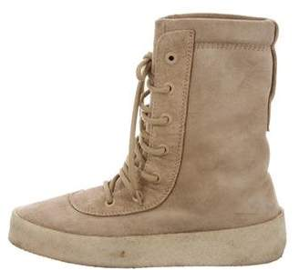 Yeezy 2016 Military Suede Boots