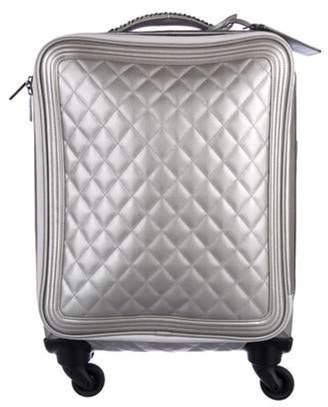 Chanel Coco Case Trolley Metallic Coco Case Trolley