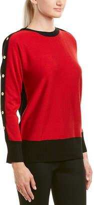 Joan Vass Silk & Cashmere-Blend Sweater