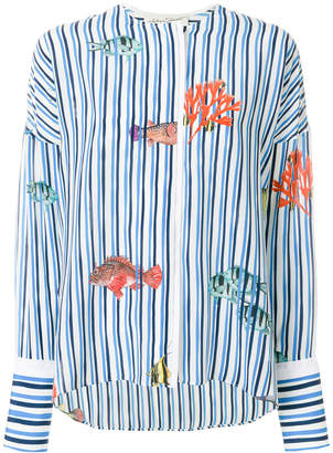 Antonia Zander striped sea shirt