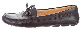 prada Prada Logo-Embellished Driving Loafers