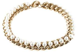 Jason Wu Faux Pearl Chain-Link Necklace