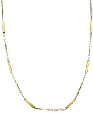Jennifer Meyer Bar Chain Necklace - Yellow Gold
