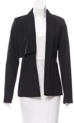 Christian Cota Wool Open Front Blazer