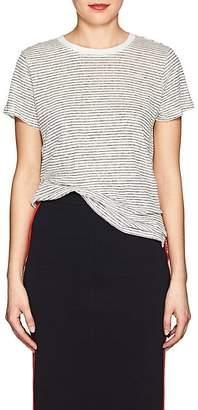 "ATM Anthony Thomas Melillo Women's ""Schoolboy"" Striped Linen T-Shirt"