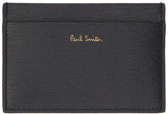 Paul Smith Navy and Burgundy Credit Card Holder