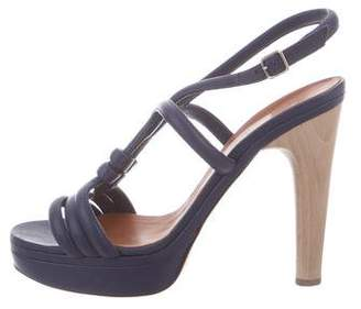 Lanvin Leather Strappy Sandals