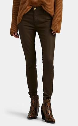 Frame Women's Le High Coated Skinny Jeans - Olive
