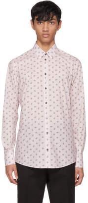 Dolce & Gabbana Pink Floral Shirt