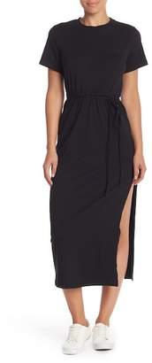 Madisonne Side Slit Bodycon Dress