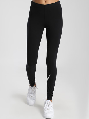 Nike Sportswear Leg-A-See Logo Leggings in Black