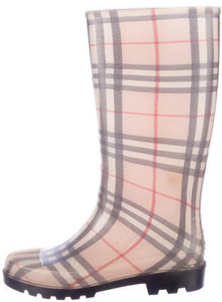 Burberry Burberry Nova Check Rain Boots