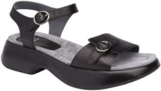 Dansko Open Toe Leather Sandals - Lynnie