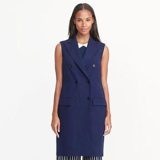 Ralph Lauren Wool Crepe Vest $298 thestylecure.com