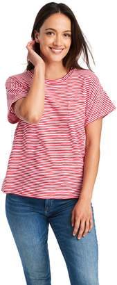 Vineyard Vines Striped Boxy Pocket Tee