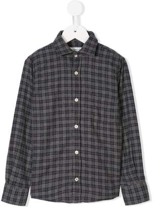 Hartford Kids plaid shirt
