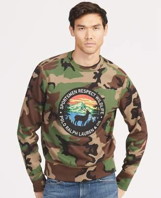 Ralph Lauren Camo Cotton-Blend Sweatshirt
