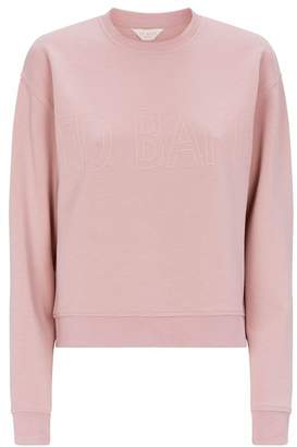 Ted Baker Lorito Piped-Logo Sweater