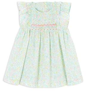 Jacadi Girls' Liberty Floral Print Smocked Dress - Baby