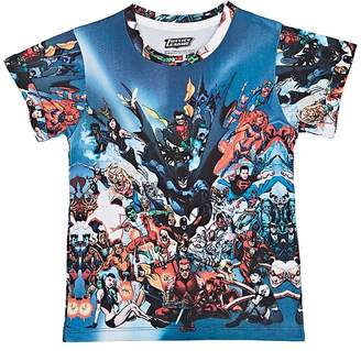 "Little Eleven Paris KIDS' ""JUSTICE LEAGUE"" COTTON-BLEND T-SHIRT"