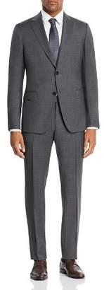 Ermenegildo Zegna Mélange Micro-Check Slim Fit Suit