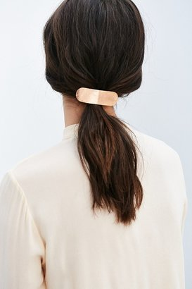 Urban Outfitters Carolina Brushed Metal Barrette $12 thestylecure.com