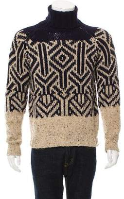 Dries Van Noten Wool Turtleneck Sweater