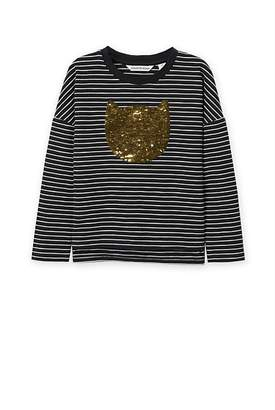 Sequin Cat T-Shirt