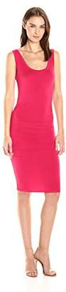 LAmade Women's Sleeveless Ruched Above The Knee Dress