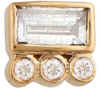 Celine Daoust Baguette Diamond Single Stud Earring