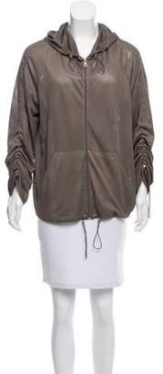 Chanel Sport Hooded Jacket