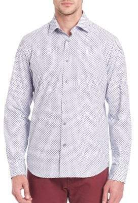 Saks Fifth Avenue Cotton Shirt with Long Sleeves