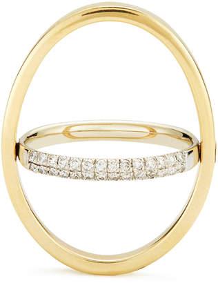 Katkim KATKIM Echo Yellow Gold Diamond Ring