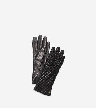 Cole Haan Braided Back Gloves
