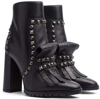 Tommy Hilfiger Studded Heeled Boot