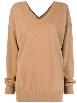 Stella McCartney long-sleeve oversized sweater