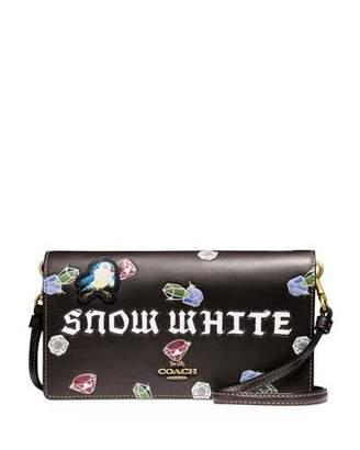 Coach 1941 DISNEY X COACH Snow White Fold-Over Crossbody Clutch Bag