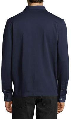 Luciano Barbera Piqué Cotton Sport Shirt