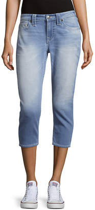 True Religion Curvy Summer Dream Skinny Capri