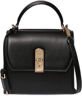 Salvatore Ferragamo Medium Boxy Leather Shoulder Bag