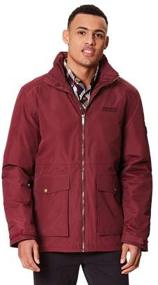 Regatta Plum 'Hebson' Insulated Hooded Waterproof Jacket