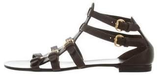 Giuseppe Zanotti Leather Buckle Sandals