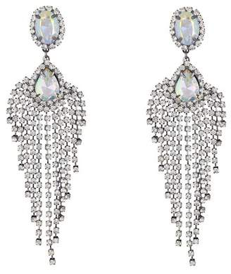 Free Press Rainbow Crystal Statement Earrings