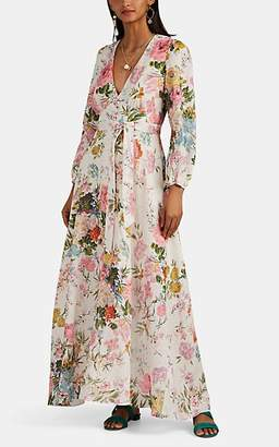 Zimmermann Women's Juniper Floral Linen Dress