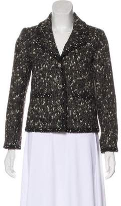 Chanel Textured Long Sleeve Blazer
