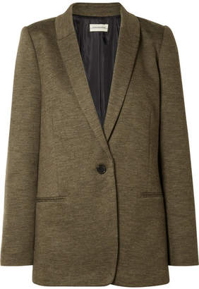 By Malene Birger Auberon Woven Blazer - Army green