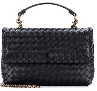 f8ca34b0da41 Bottega Veneta Olimpia Small leather shoulder bag