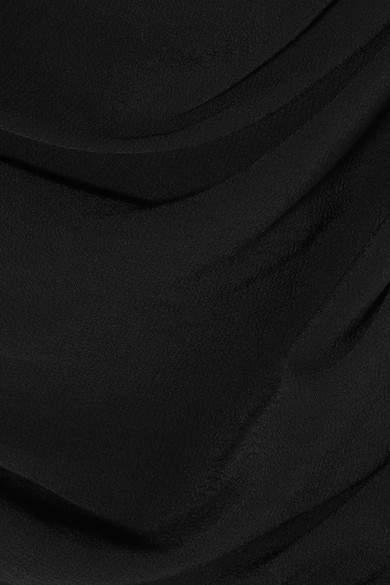 Vivienne Westwood Amber Draped Crepe Gown - Black