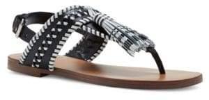 Vince Camuto Rebeka Tasseled T-Strap Sandals