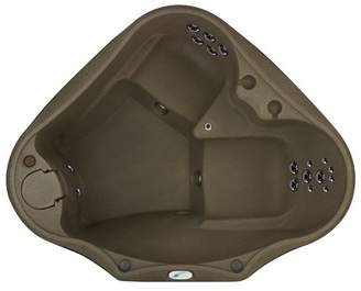 AquaRest Spas Premium 300 2-Person Plug and Play with 20 Stainless Jets, Heater, Ozone and LED Waterfall